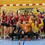 FU16-Juniorinnen der HSG Aargau Ost feiern Cupsieg