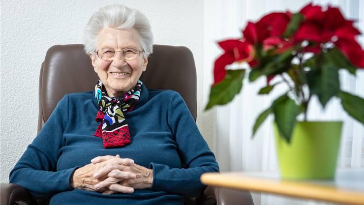 Marie Bircher erinnert sich gut daran, wie sie früher am 24. Dezember in der Kapelle in Rüstenschwil eine halbe Stunde lang die Glocken läuteten.