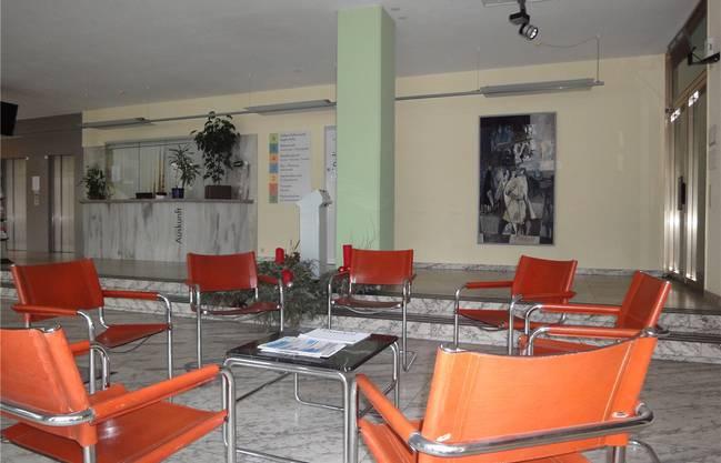 So hat das Erdgeschoss im Wettinger Rathaus vor dem Umbau ausgesehen.