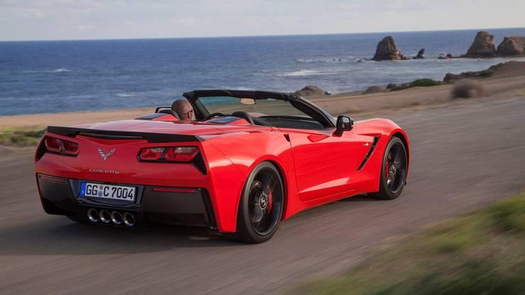 Die Corvette gibt es jetzt auch als Cabriolet. (Archivbild)