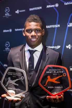Breel Embolo wurde sowohl als bester wie auch als wertvollster Spieler ausgezeichnet
