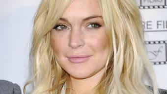 Sitzt ihren Hausarrest ab: Lindsay Lohan (Archiv)