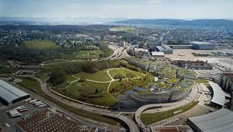 Das Pharmaunternehmen MSD (Merck Sharp & Dohme) expandiert in der Schweiz und wird am Flughafen ein Büro für 250 Mitarbeitende einrichten. (Archiv)