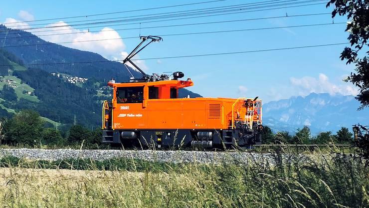 In diesem Jahr sollen alle neuen Lokomotiven des Typs Geaf 2/2 in Betrieb genommen werden.