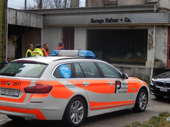 Im Einsatz standen zwischen 15 und 20 Polizisten