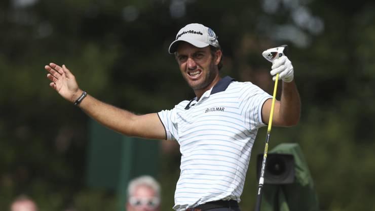 Hat im Moment nichts zu lachen: Der italienische Golfer Edoardo Molinari wurde im Oman unter Quarantäne gestellt