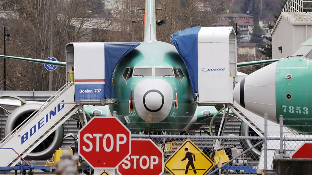 Boeing-Bestellungen brechen wegen Flugverbot für 737 Max ein