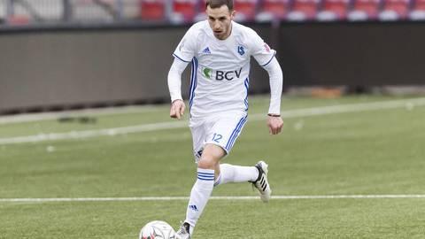 Nikola Boranijasevic verdient bei Lausanne 11'500 Franken im Monat.