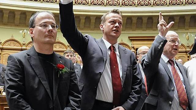 Die drei neuen im Nationalrat