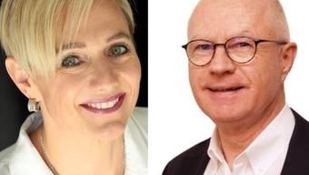 Wollen beide das Gemeindepräsidium: Rahel von Planta (FDP) in Oetwil, Simon Wirth (FDP) in Unterengstringen.