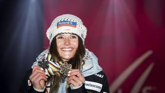 Silber und Bronze: Corinne Suter lebt ihren WM-Traum.