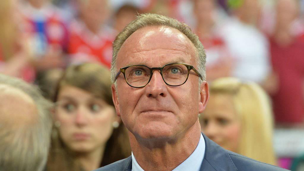 Karl-Heinz Rummenigge nimmt kein Blatt vor den Mund.