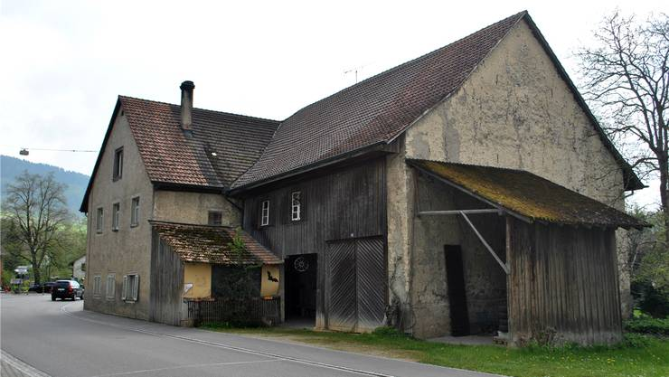 Pro Natura Aargau hat das «Trottehuus» in Wegenstetten gekauft, nun entsteht dort eine Ferienwohnung der Stiftung Ferien im Baudenkmal. NBO/ARCHIV