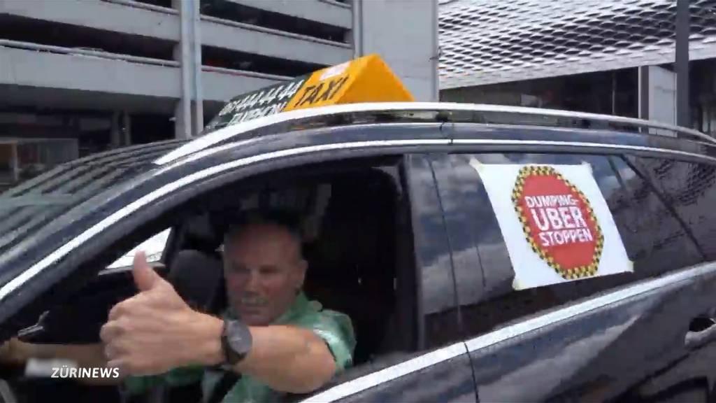 Neues Taxigesetz spaltet die Parteien