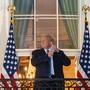 US-Präsident Donald Trump ist am Montagabend von seinem Spitalaufenthalt ins Weisse Haus zurückgekehrt.