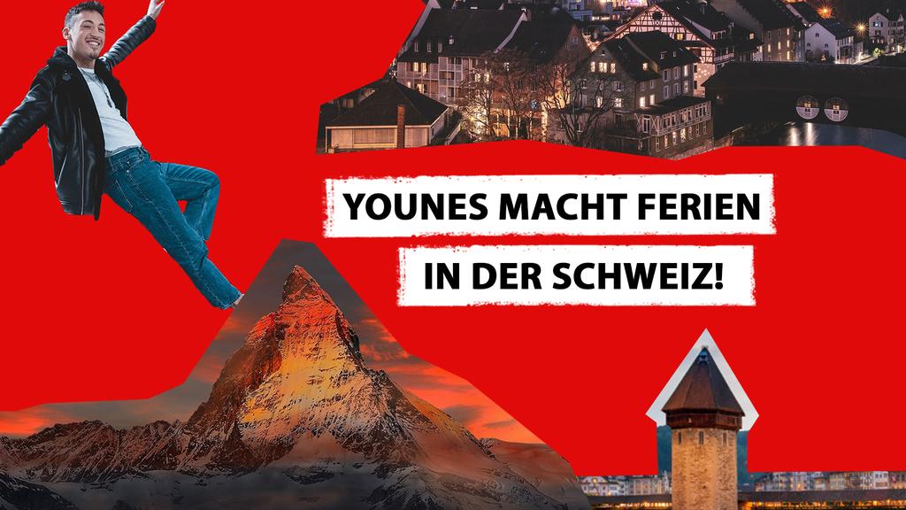 Younes macht (für dich) Ferien in der Schweiz