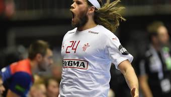 Über 2,7 Millionen Landsleute sahen am TV zu, wie WM-Topskorer Mikkel Hansen Dänemark zum Titel schoss