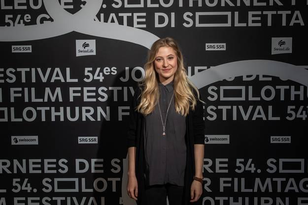 Annina Euling am Samstag an den Filmtagen