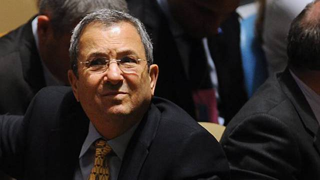 Israels Verteidigungsminister Ehud Barak.