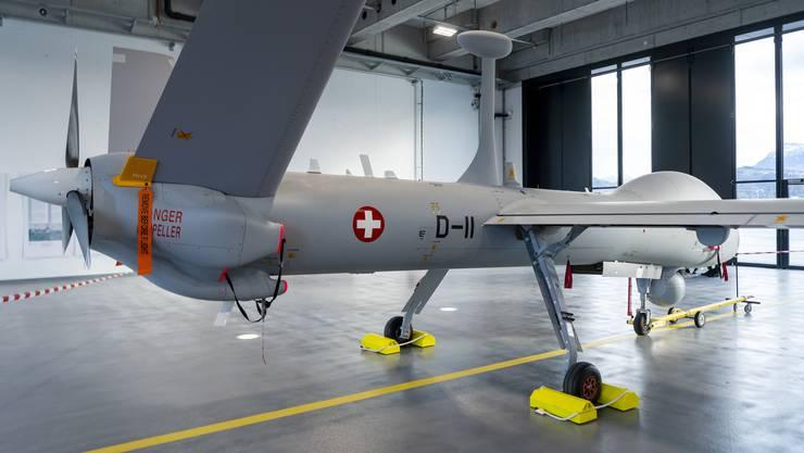 Eine solche Hermes 900 HFE Drohne stürzte gestern über Israel ab. (Archivbild)