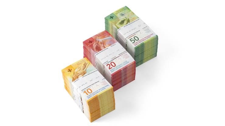 Mit der 10er-Note geht – nach der 50er- und 20er-Note – bereits die dritte Banknote der neuen Serie in Umlauf.