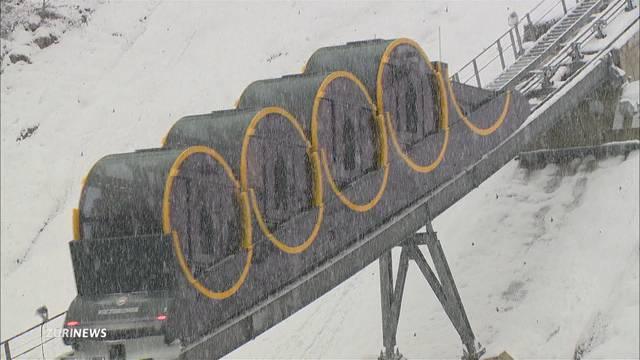 Schnee schaltet neue Stoosbahn aus