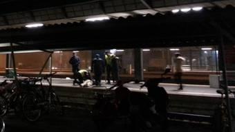 Schlägerei am Bahnhof Aarau