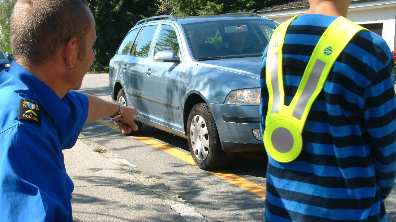 Kinder sollen Verkehrskompetenz erwerben
