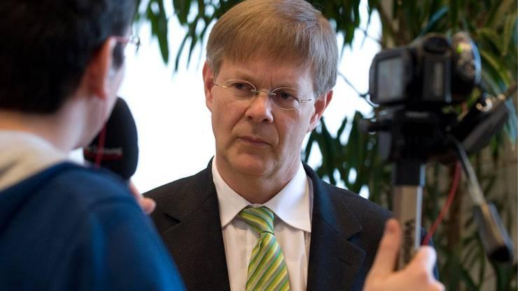 Gerhard Schafroth zieht sich aus dem Rennen um den freien Regierungssitz zurück.