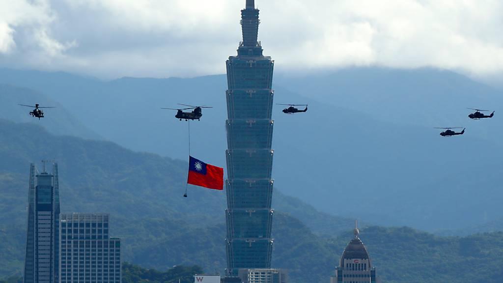 China verärgert über US-Militärkontakte mit Taiwan
