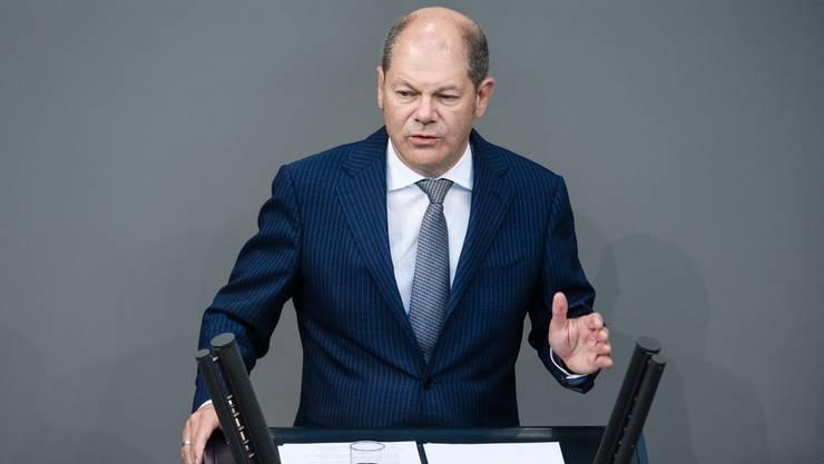 Scholz wäre der 13. Bewerber für den Parteivorsitz.