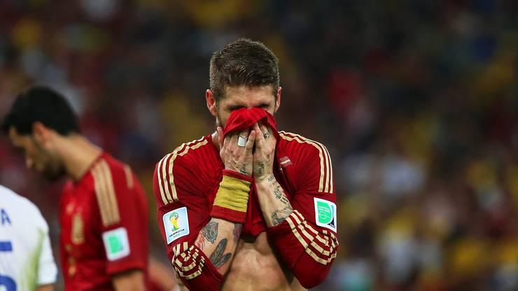 Die Spanier sind sensationell ausgeschieden