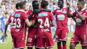 Der FC Sion kann endlich wieder jubeln