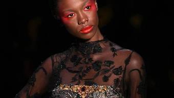 Zu dünn: Model bei der Fashion Week in Sao Paolo