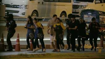 Amok-Soldat tötet in Thailand