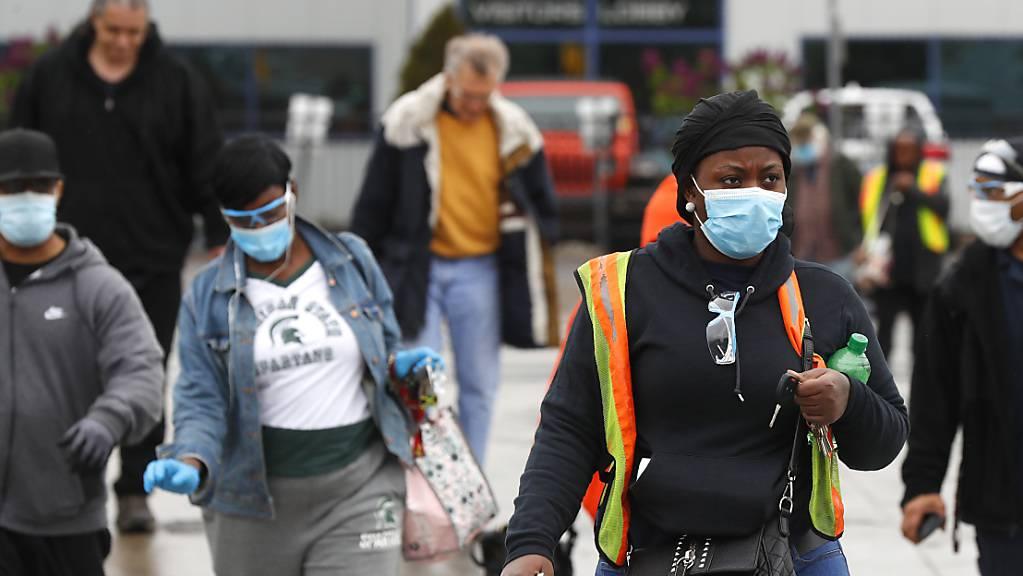 Das Coronavirus wütet immer weiter in den USA. (Symbolbild)