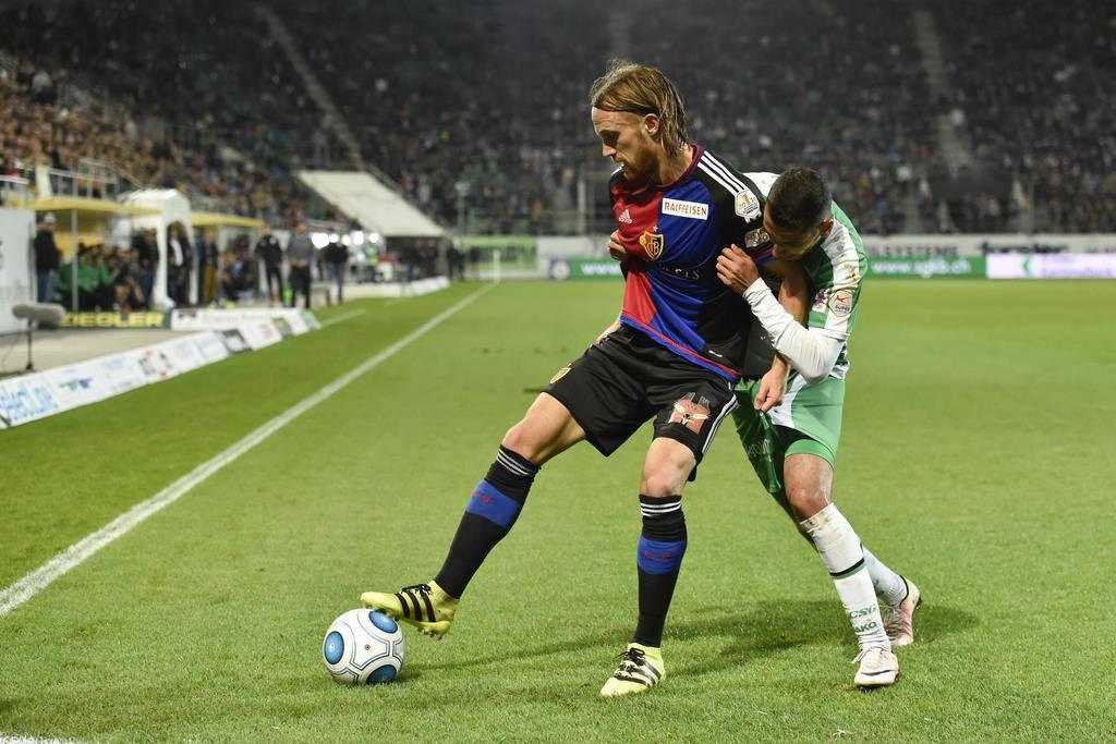 FCSG vs. FC Basel (© Keystone)