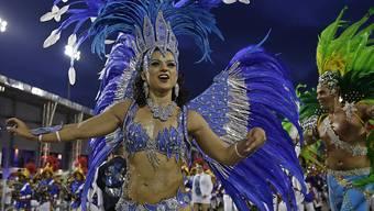 In São Paulo wird es wegen der Coronakrise im Februar 2021 keinen Karneval geben. Der Anlass ist auf unbestimmte Zeit verschoben worden. (Archivbild)