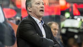 Zugs Trainer Harold Kreis steht mit seinem Team erneut kurz vor dem Ausscheiden