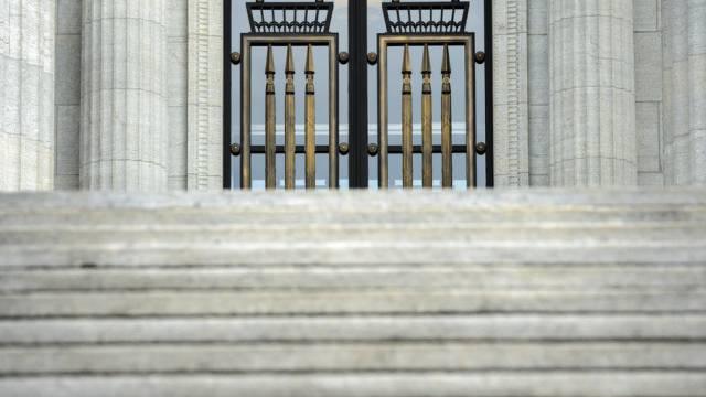 Eingang des Bundesgerichts in Lausanne (Archiv)