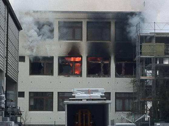 Brand in der Asylunterkunft in Villmergen