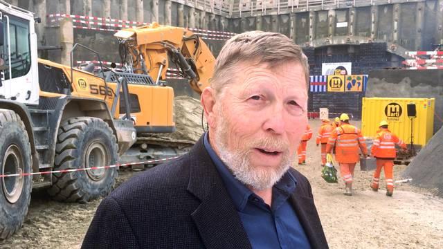 «Es wollte ja nicht mehr aufhören»: Der Weininger Gemeindepräsident Hanspeter Haug (SVP) im Videointerview