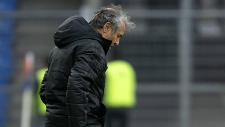 Basels Trainer Marcel Koller wurde von der Swiss Football League für ein Spiel gesperrt