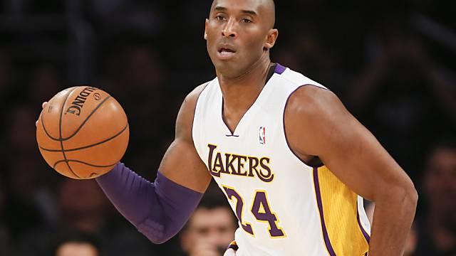 Kobe Bryant muss die Saison abbrechen