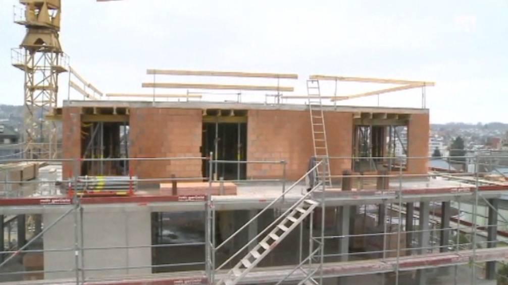 Mehr gebaut als erlaubt: Wohlen verfügt Baustopp