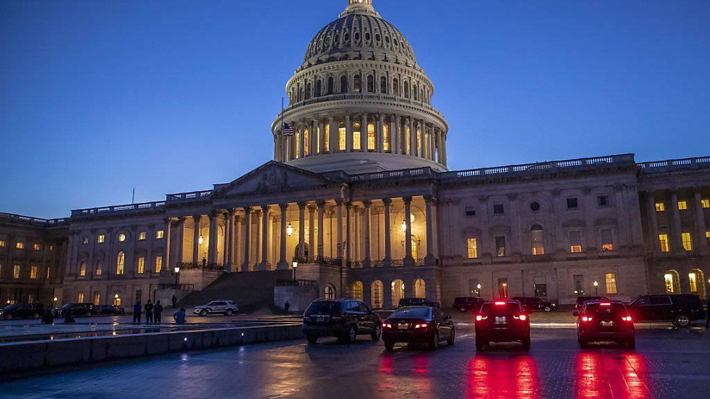 Das US-Parlamentsgebäude - das Kapitol - in Washington.