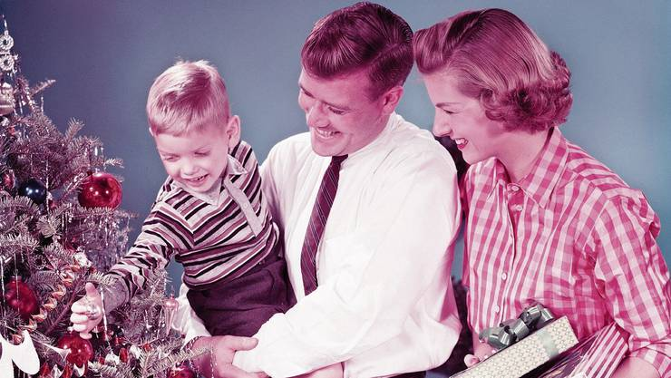 Wie in der Kindheit wird sie nie mehr. Erwachsene Weihnacht ist anstrengend.