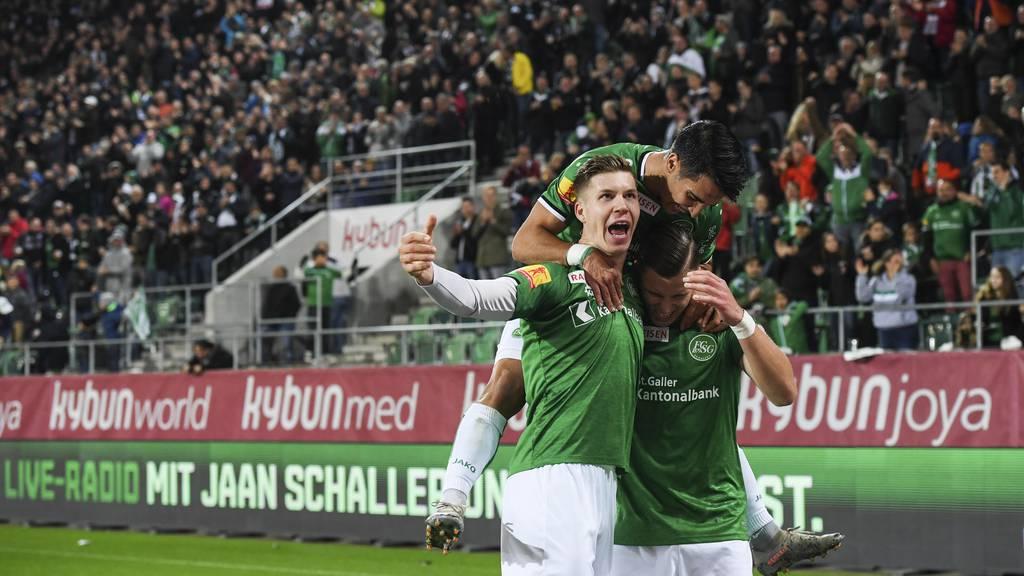 St.Galler Höhenflug geht weiter – 3:0 gegen Sion