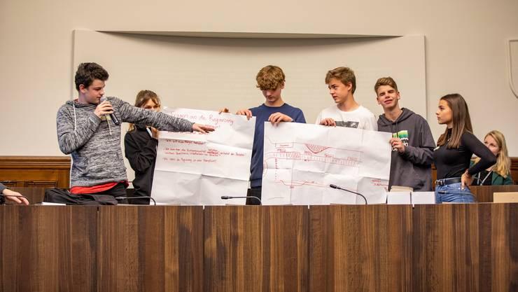 Zum 12. Mal wurde in Solothurn der Jugendpolittag durchgeführt.
