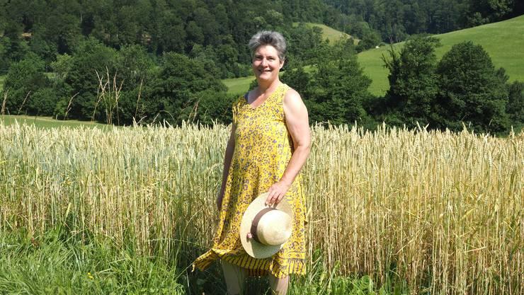 Bringt Farbe in die Politik: Gertrud Häseli sitzt seit 2009 im Grossen Rat und tritt im Herbst nochmals an.